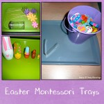 Easter Montessori Trays