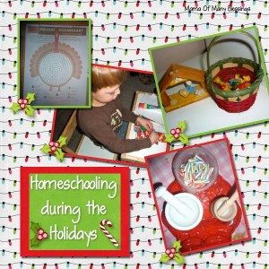 Homeschool During The Holidays With List of Resources!!