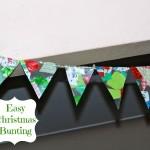 DIY Christmas Bunting