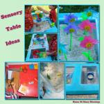 5 Fun Sensory Table Ideas
