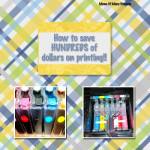 Save money on Printing!!