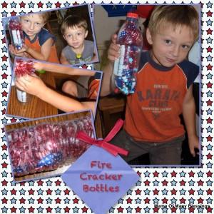 4th Of July Kids Activities ~ DIY Firecracker Bottles
