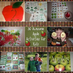 30 Awesome Apple Activities For Kids!!