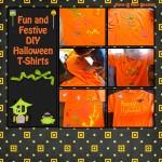 Easy DIY Halloween T Shirts