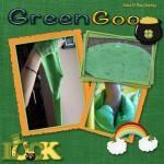 Green Goo Sensory Bin
