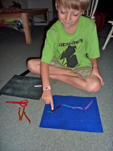 Montessori Addition Snake Game