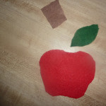 DIY Felt Apple Counters