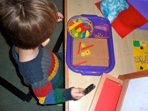 Montessori Homeschool ~ An off week…