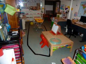 Our Homeschool School Room!