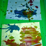 Art Projects For Kids ~ Blow Art