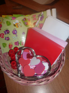 Valentines Day Cards Idea Mailing Station For Kids