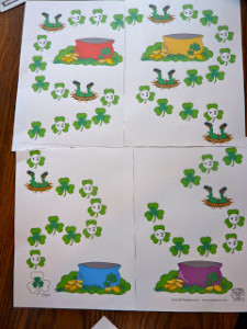 St Patrick Day Activities