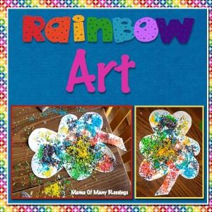 Easy Rainbow Art