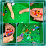 Easter Sensory Bin Water Play