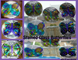 Friday Art: Stained Glass Butterflies