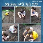 Gardening With Kids 2013