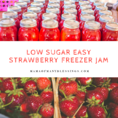 Low Sugar Strawberry Freezer Jam 2
