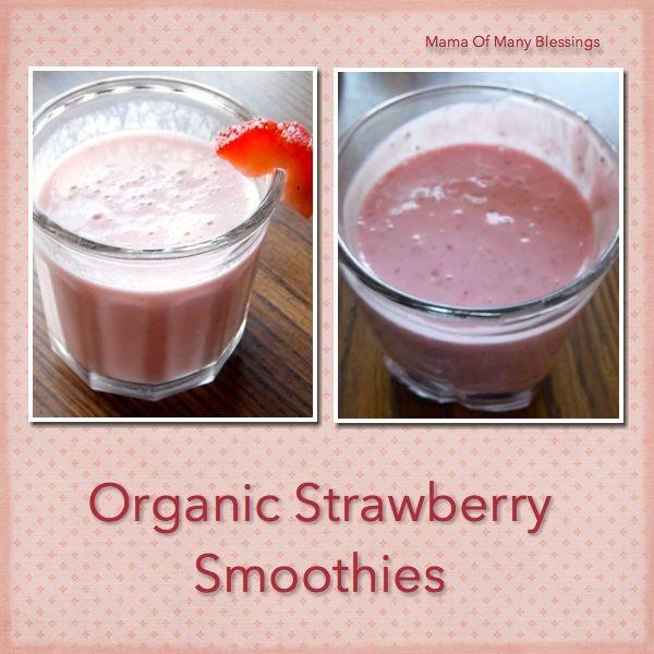 Organic-Strawberry-Smoothie