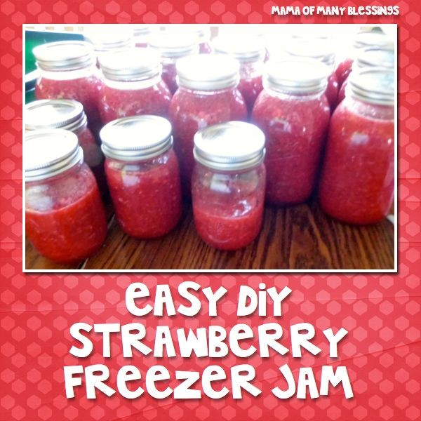 Strawberry-Freezer-Jam