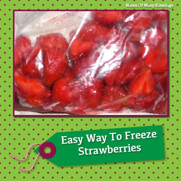 Freezing-Strawberries