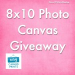 Easy Canvas Prints ~ 8×10 Canvas Giveaway