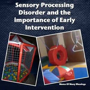 Early Intervention and Sensory Processing Disorder