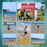 Mackinac Bridge ~Vacation Day 1~The Day In Which We Loose The Tip Of A Toe…