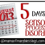 5 Days Of Sensory Processing Disorder Resources Series