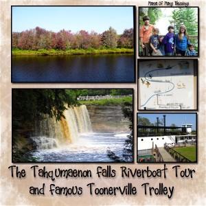 Upper Peninsula MI~Tahquamenon Falls Riverboat Tour~Vacation Day 2 #PureMichigan