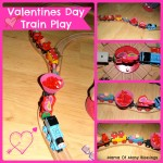 Valentine Ideas ~ Train Play