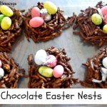 HERSHEY Chocolate Easter Nests & A Hershey's Candy Giveaway  #BunnyTrail