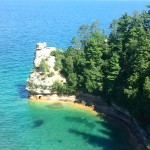 Pictured Rocks National Shoreline~Miners Castle ~ Upper Peninsula Michigan~ #puremichigan