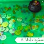 St. Patricks Day Sensory Bin