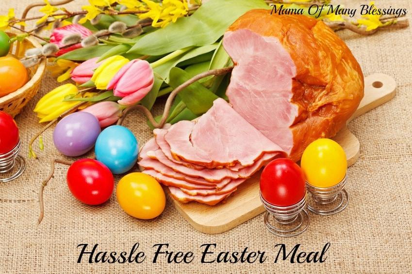 Hassle free easter dinner honey baked ham easter ad negle Images