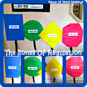 Teaching Self Regulation and Emotional Control ~ The Zones Of Regulation
