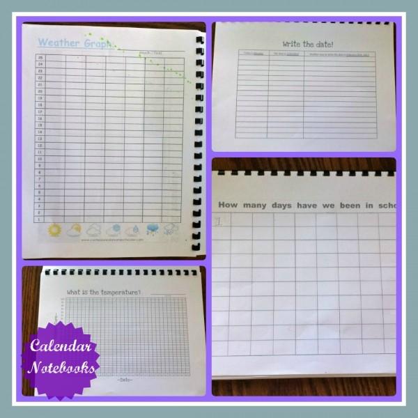 Calendar Notebook Homeschool : Homeschool planning calendar notebooks activities