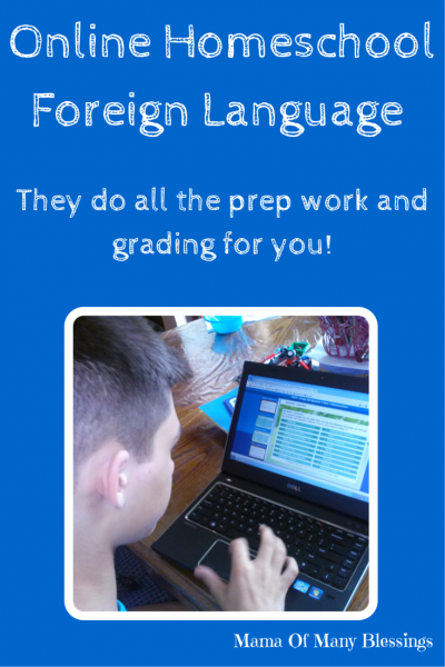 Online Homeschool Foreign Language