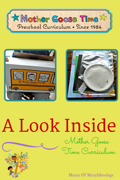 Mother Goose Time Curriculum