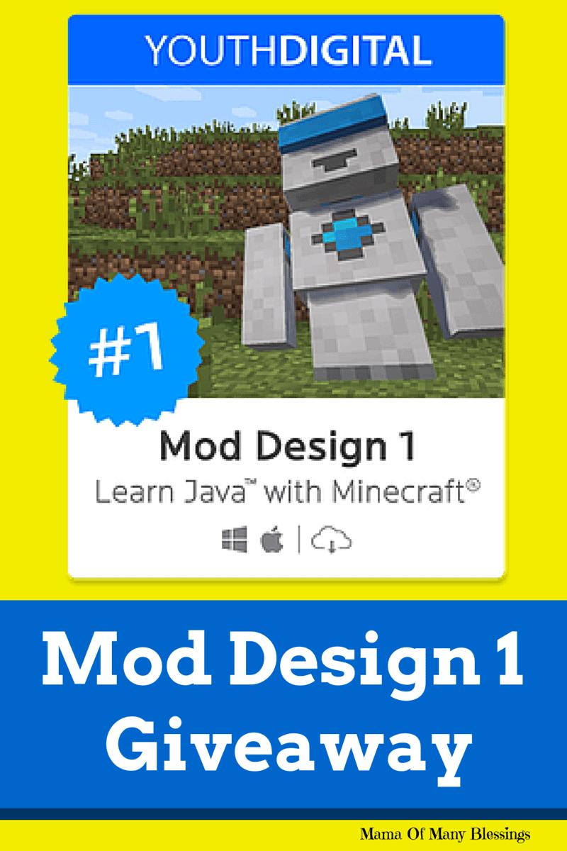Mod Design 1 Giveaway