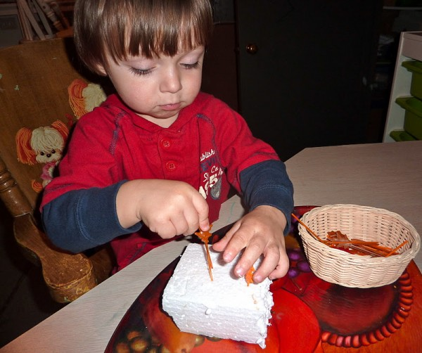 Fall Leaves Fine Motor