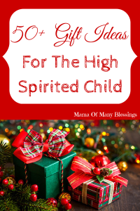 50+ Gift Ideas For The High Spirited Child