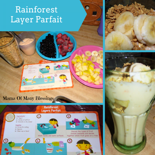 Rainforest Layer Parfait