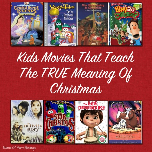 Movies That Teach The TRUE Meaning Of Christmas