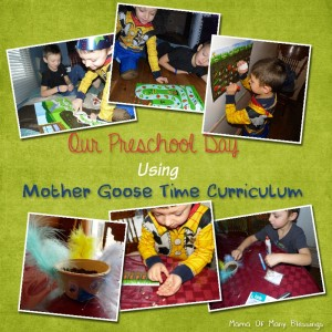 A Look Into Our Preschool Day