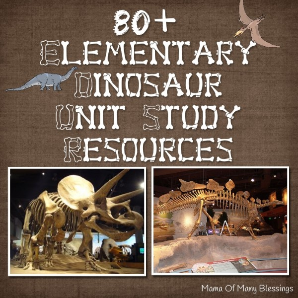 Dinosaur Unit Study Ideas
