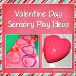 3 Valentine Day Sensory Bin Ideas