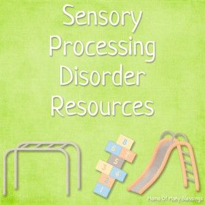 Sensory Processing Disorder Resources