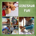 Preschool Dinosaur Fun Weeks 3/4