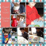 Preschool Theme – A Trip Around The World