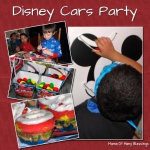 Disney Cars Party #DisneySide